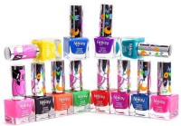 Foolzy Pack Of 12 Love Disco Nail Paint Polish 120 Ml (Disco Shades)