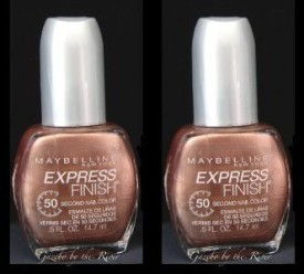 Maybeline New York Express Finish 60 SECONDS Nail color polish, 230 Brassy (2 PACK) 15 ml