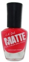 L.A. Girl Matte Flat Finish 14 Ml (Matte Coral Nl 531)