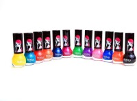 Foolzy Pack Of 12 Nail Polish Paint 72 Ml (Disco)