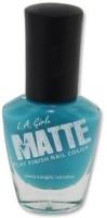 L.A. Girl Matte Flat Finish 14 Ml (Matte Sky Blue Nl 541)