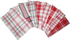 Lushomes Red Set of 8 Napkins