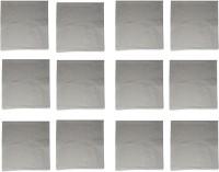 Cotton Light Grey Set Of 12 Napkins