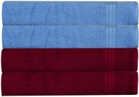 Rr Textile House Blue, Maroon Set Of 4 Napkins