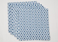Ocean Homestore Blue Set Of 6 Napkins - NAPEBZ38YJD6BABR