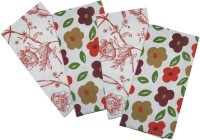 Smart Home Textile Multicolor Set Of 4 Napkins