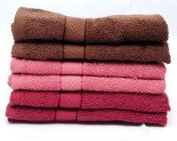 The Home Story Brown, Pink, Maroon Set Of 6 Napkins
