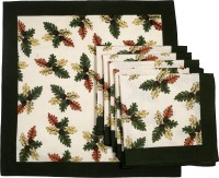 Chromatic Collections POMIGRANTE-17-A Set Of 6 Napkins Green