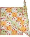 Morning Blossom Designer Kitchen Towel Set Of 2 Cloth Napkins - Multicolor - NAPDZCUSCZHFMGAQ