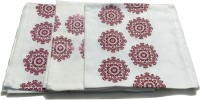 HomeTex Red, White Set Of 3 Napkins
