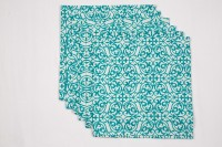 Ocean Homestore Blue Set Of 6 Napkins - NAPEBZ38ZA3HUGGR