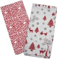Smart Home Textile Red, White Set Of 2 Napkins - NAPE6ZDYEYN3THUR