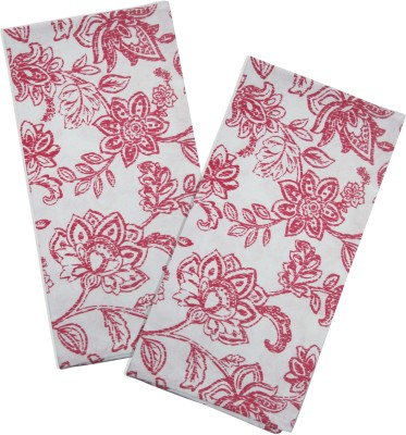 Smart Home Textile Red, White Set Of 2 Napkins