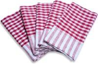 El Sandalo Kitchen Duster Set Of 10 Cloth Napkins (Red) - NAPE5JZUJX8YYKPZ