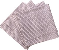 Raaga Textile Grey, White Set Of 4 Napkins
