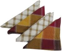 Snuggle Multicolor Set Of 4 Napkins - NAPE7GP3QFSBVMWP