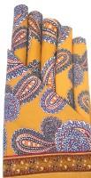 Raghuraj Lifestyle Yellow Set Of 6 Napkins - NAPEBF9X3GATZQ3M