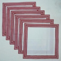 Chromatic Collections NP-Reflection-3329-Red-A Set Of 6 Napkins Red
