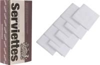 The Cotton Company Pure White Set Of 8 Napkins