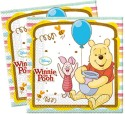 Disney Winnie Sweet Tweets Two-ply Paper Set Of 20 Paper Napkins - Multicolor