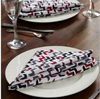 At Home Outblush P Set Of 2 Cloth Napkins (Multicolor)