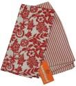 Homeland@dreamsunlimited Dhuri-Kitchen-Towel Set Of 2 Cloth Napkins - Red