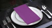 Lushomes Royal Lilac Set Of 6 Napkins