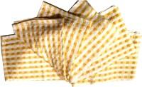 Welhouse Yellow Set Of 6 Napkins