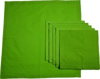 Chromatic Collections POMIGRANTE-24-A Set Of 6 Napkins Green