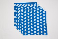 Ocean Collection Blue Set Of 6 Napkins