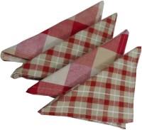 Snuggle Multicolor Set Of 4 Napkins