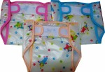 SKGB Inside Cotton Outside Plastic Velcro Nappies