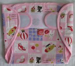Love Baby Dry Quick Cloth with Plastic Diaper Pink