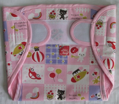 Love Baby Dry Quick Cloth with Plastic Diaper Pink - Extra Large (1 Pieces)