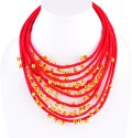 Monisha Daga Fabric, Alloy Necklace