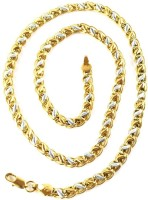 Italian Jewellery Hand Made 22K Yellow Gold Plated Brass Chain