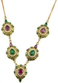 YugshaJewels Brass Necklace