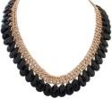Crunchy Fashion Black Fall Short Alloy Necklace