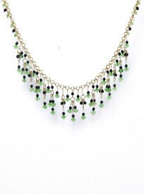 Galz4ever Fancy Glass beads Alloy Necklace