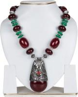Taj Pearl Style Diva Multi Color Plastic Necklace
