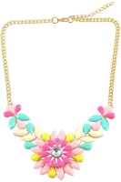 Diovanni Beauty Of Flowers Alloy Necklace