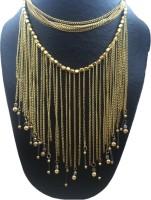 The Onyx Label Alloy Necklace