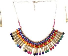 New Creation Brass Necklace Set