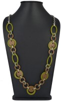 Aaradhaya Fashion Necklace Resin, Metal Necklace