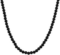 Swanvi Pitch Black Necklace Alloy Necklace