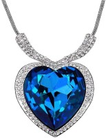 Crunchy Fashion Titanic Inspired Heart Alloy Necklace