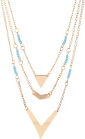 Crunchy Fashion Fluctuating Bright Necklace Alloy Necklace