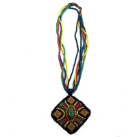Surmayi Ceramic, Fabric Necklace