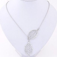 Cinderella Collection By Shining Diva Beautiful Silver Alloy Necklace