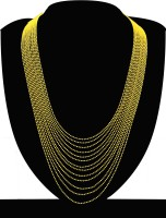 Zaveri Pearls 18K Yellow Gold Plated Zinc Necklace